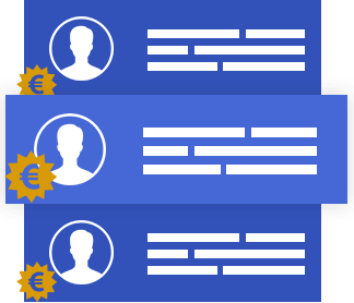 Kosten van marketeers vergelijken